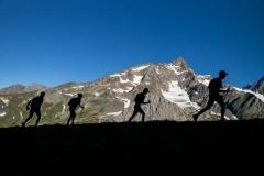Ascenso al Col de Chavannes durante la TDS (Traces des Ducs de Savoie) de 120kms el pasado mes de agosto